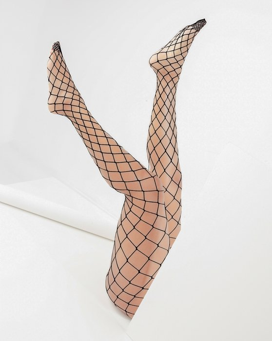 Charcoal Diamondnet Fishnet Style# 1405 | We Love Colors