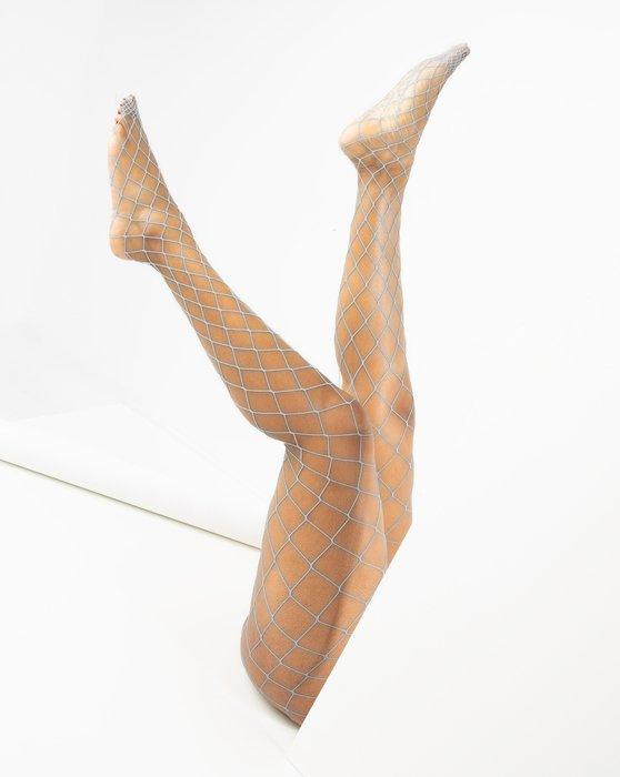 Light-Grey Womens Diamondnet Fishnet Style# 1405 | We Love Colors