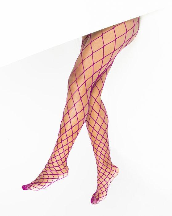 Magenta Diamondnet Fishnet Style# 1405 | We Love Colors