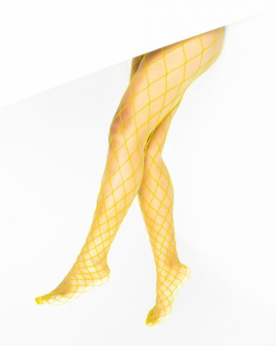 Yellow Diamondnet Fishnet Style# 1405 | We Love Colors