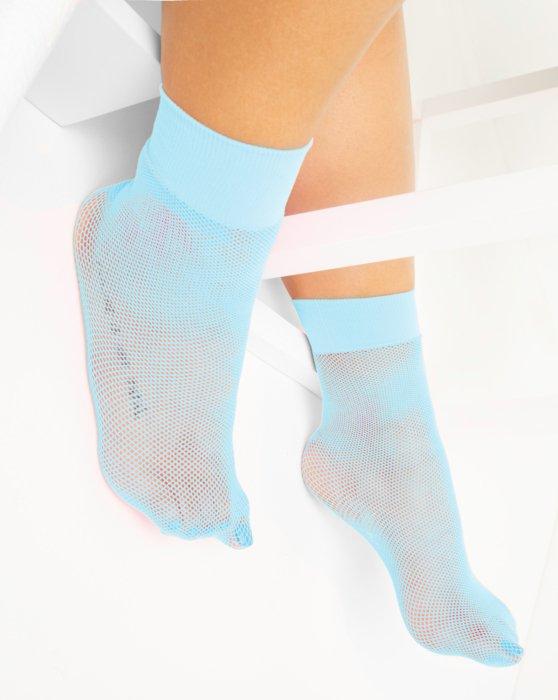 Aqua Womens Fishnet Anklet Style# 1429 | We Love Colors