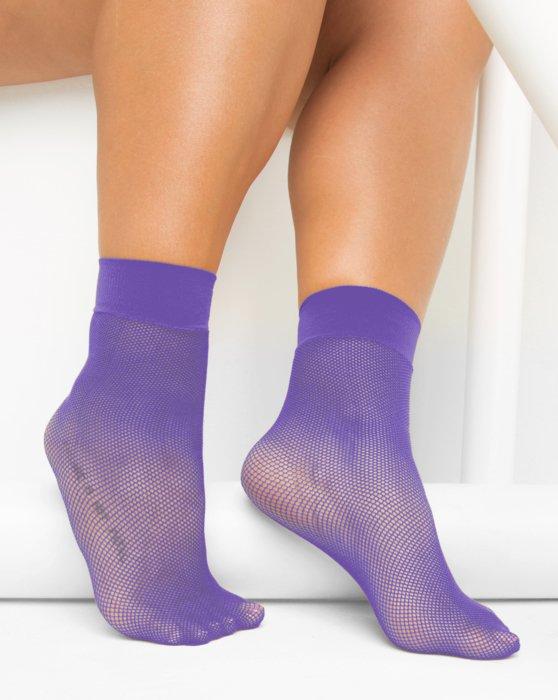 Lavender Fishnet Anklet Style# 1429 | We Love Colors