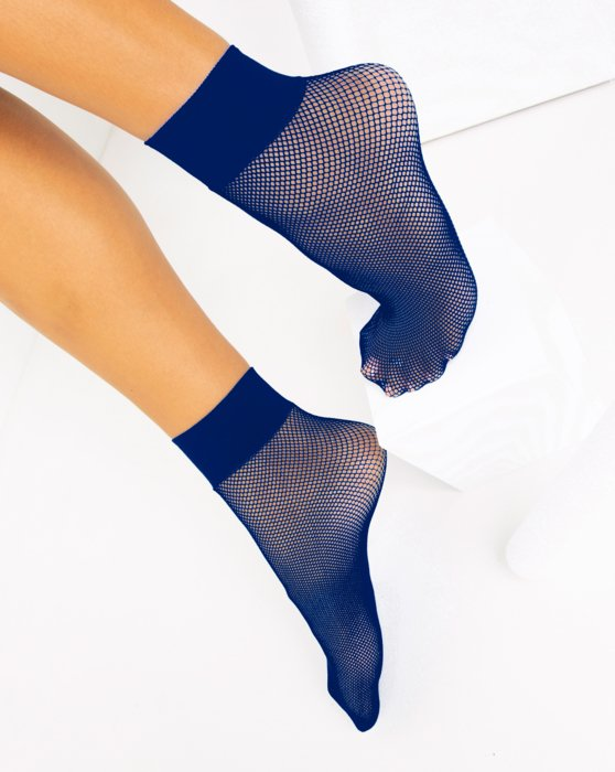 Navy Fishnet Anklet Style# 1429 | We Love Colors