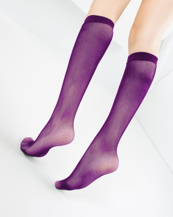 Fishnet Knee Highs Style# 1431 | We Love Colors