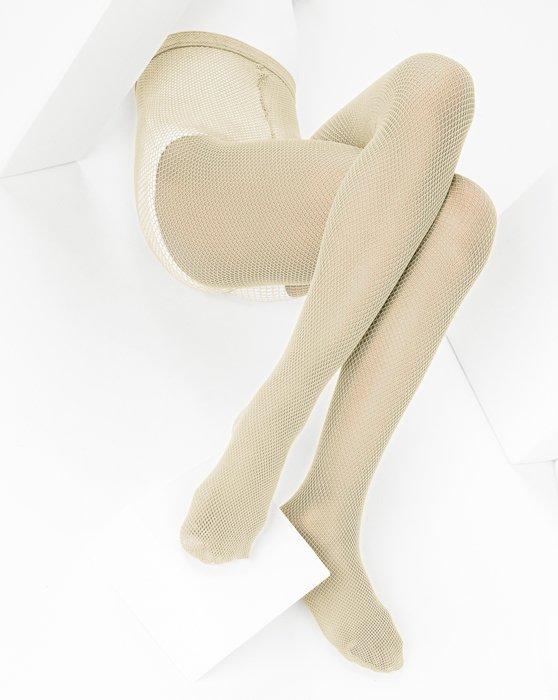 Light-Tan Kids Fishnet Pantyhose Style# 1471 | We Love Colors