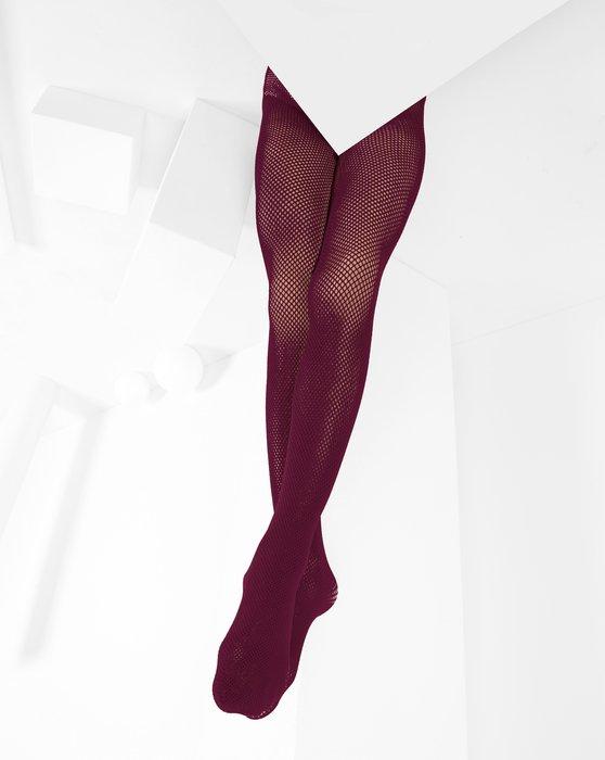 Maroon Kids Fishnet Pantyhose Style# 1471 | We Love Colors