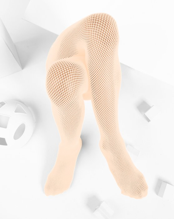 Peach Kids Fishnet Pantyhose Style# 1471 | We Love Colors