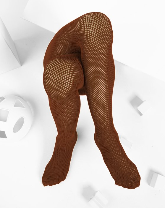 Rust Kids Fishnet Pantyhose Style# 1471 | We Love Colors