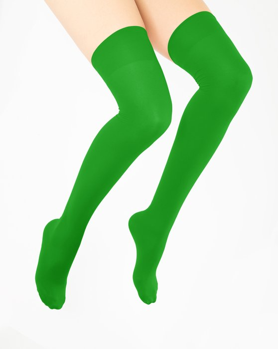 Kelly Green Thigh Highs Style# 1501 | We Love Colors