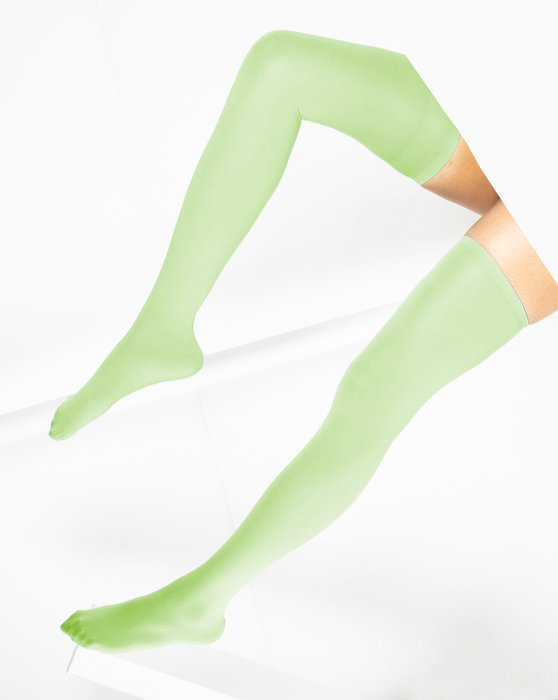 Mint Green Thigh Highs Style# 1501 | We Love Colors