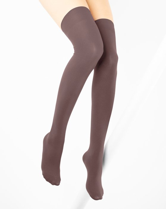 Mocha Thigh Highs Style# 1501 | We Love Colors