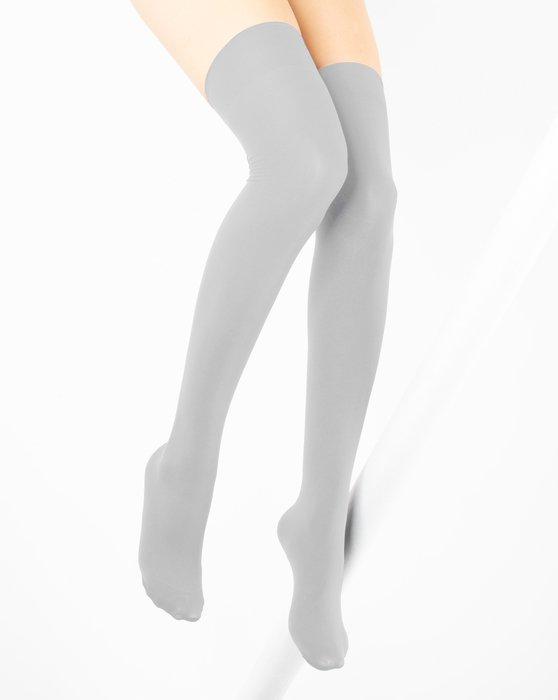 Grey Womens Thigh Highs Style# 1501 | We Love Colors