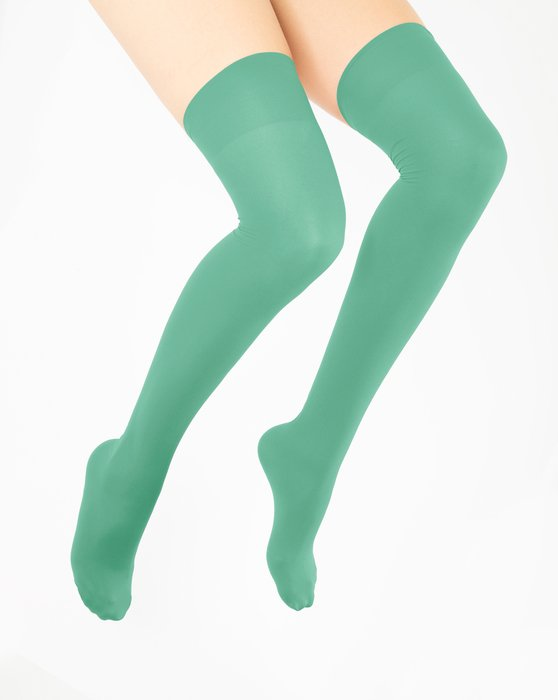Scout Green Thigh Highs Style# 1501 | We Love Colors