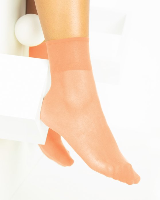 Light Orange Womens Sheer Anklet Style# 1527 | We Love Colors