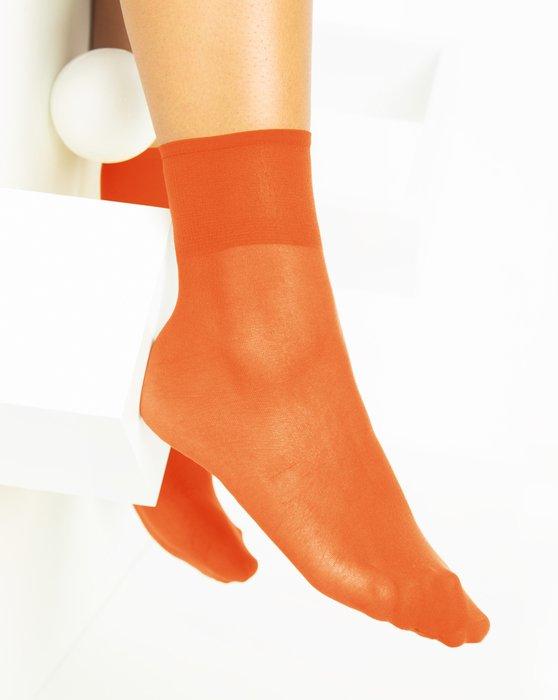 Orange Womens Sheer Anklet Style# 1527 | We Love Colors