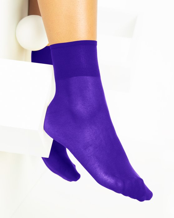 Violet Womens Sheer Anklet Style# 1527 | We Love Colors