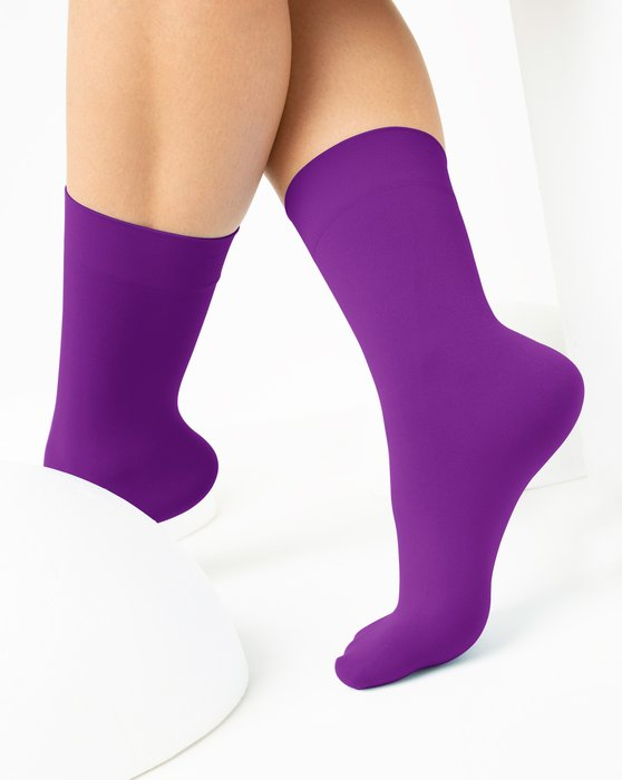 Amethyst Womens Microfiber Socks Style# 1529 | We Love Colors