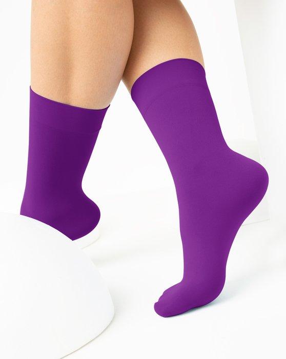 Amethyst Womens Microfiber Socks Style# 1529 | We Love Colors