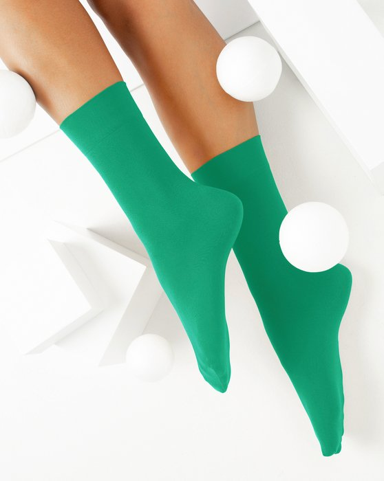Emerald Womens Microfiber Socks Style# 1529 | We Love Colors