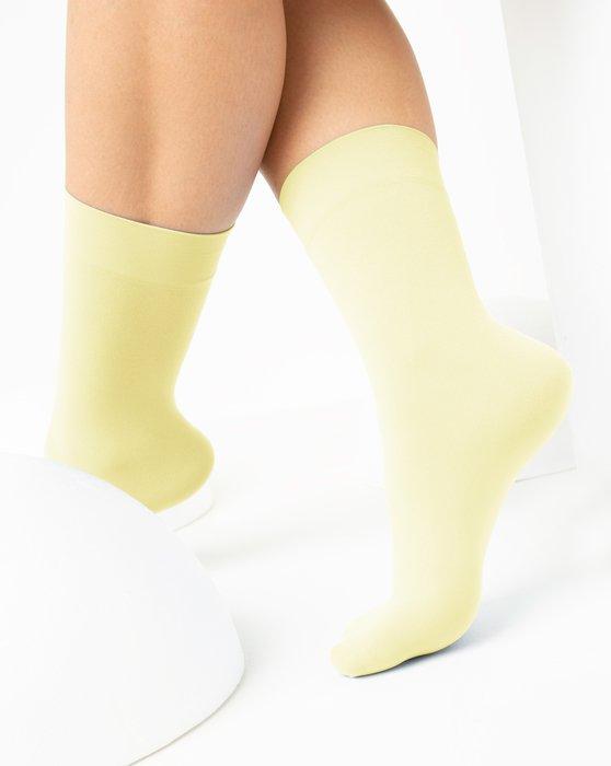 Ivory Womens Microfiber Socks Style# 1529 | We Love Colors
