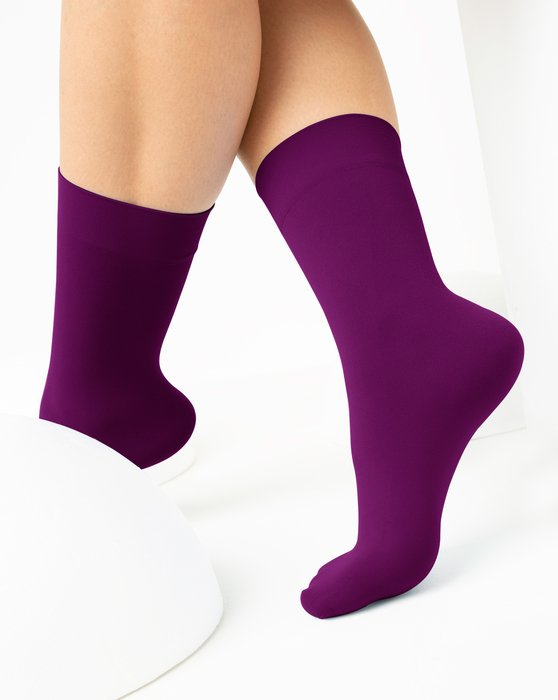 Rubine Womens Microfiber Socks Style# 1529 | We Love Colors