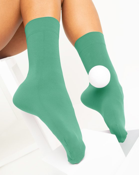 Scout-Green Womens Microfiber Socks Style# 1529   We Love Colors