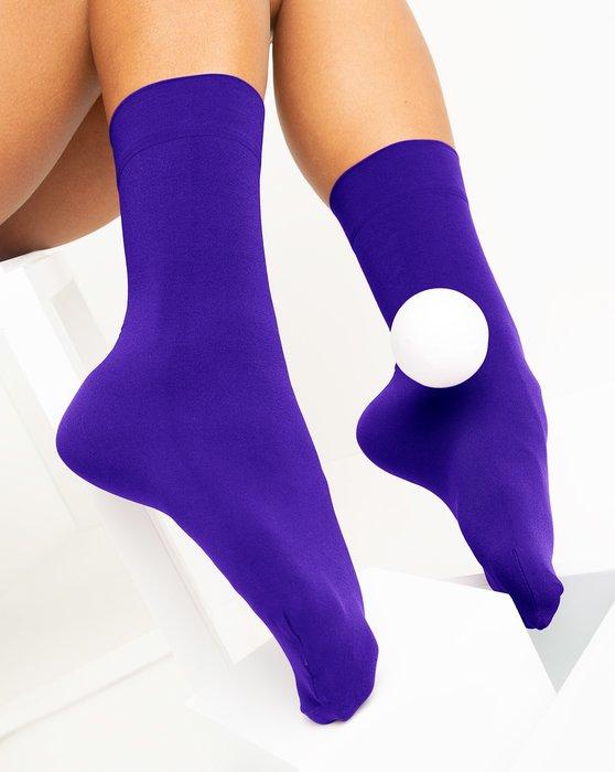 Violet Womens Microfiber Socks Style# 1529 | We Love Colors