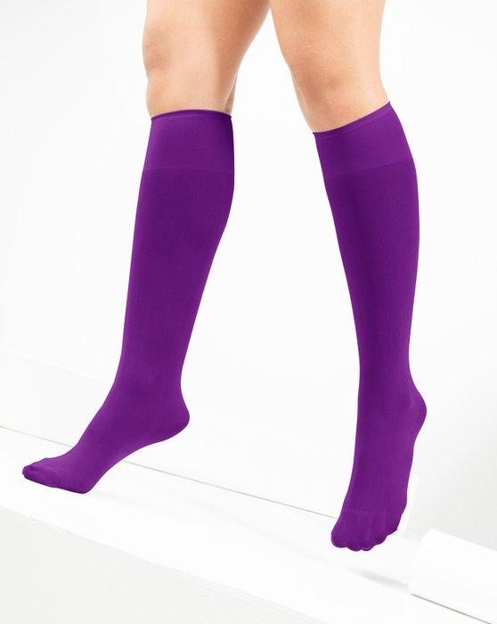 Amethyst Womens Knee Highs Style# 1532 | We Love Colors