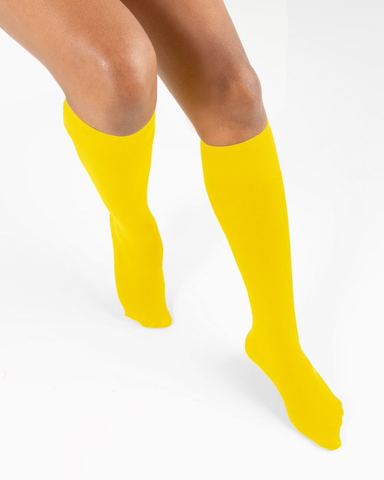Yellow Knee Highs Style# 1532 | We Love Colors