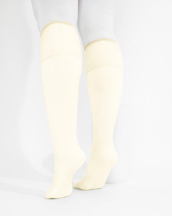 Ivory Womens Sheer Knee Highs Style# 1536 | We Love Colors