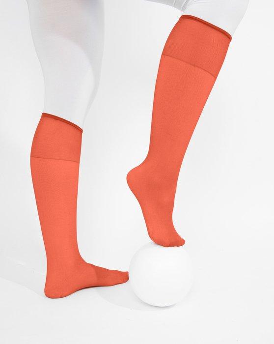 Rust Sheer Knee Highs Style# 1536   We Love Colors