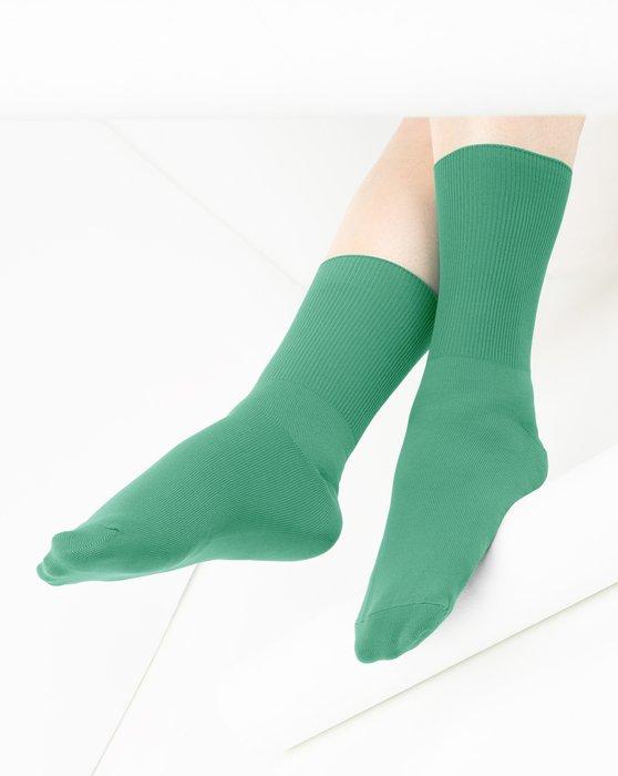 Scout-Green Womens Nylon Socks Style# 1551 | We Love Colors
