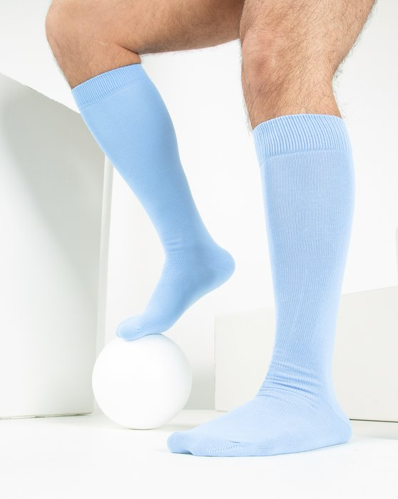 Baby Blue Sports Socks Style# 1559   We Love Colors