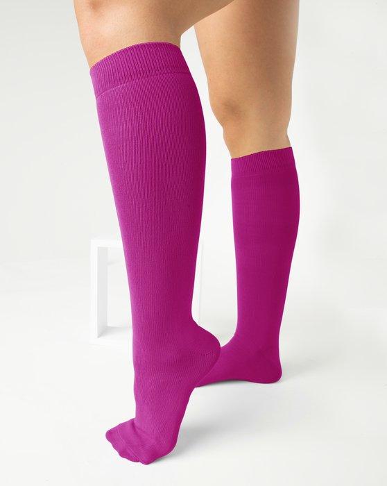 Fuchsia Sports Socks Style# 1559 | We Love Colors