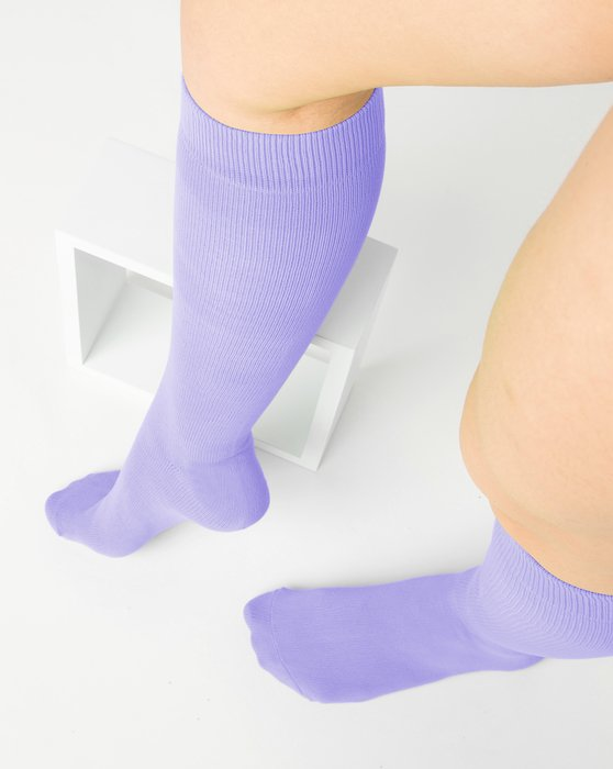Lilac Sports Socks Style# 1559 | We Love Colors
