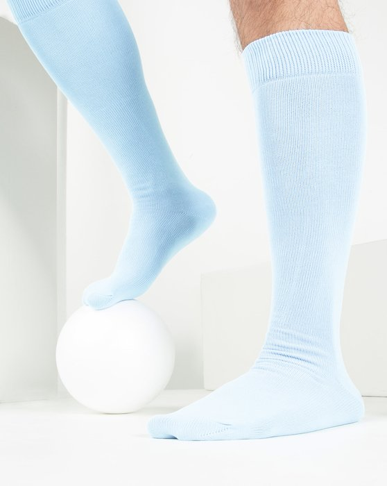 Baby-Blue Womens Sports Socks Style# 1559 | We Love Colors