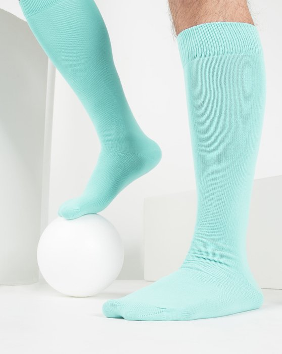 Pastel-Mint Womens Sports Socks Style# 1559 | We Love Colors