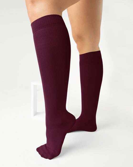 Maroon Sports Socks Style# 1559 | We Love Colors