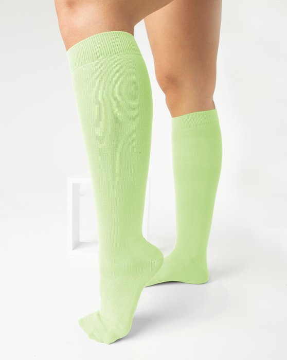 Mint Green Sports Socks Style# 1559 | We Love Colors