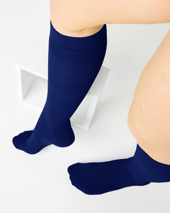 Navy Sports Socks Style# 1559 | We Love Colors
