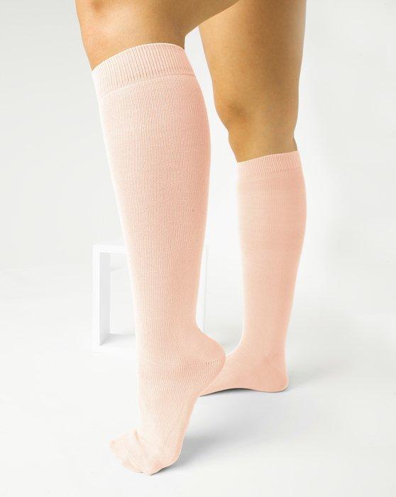 Peach Womens Sports Socks Style# 1559 | We Love Colors