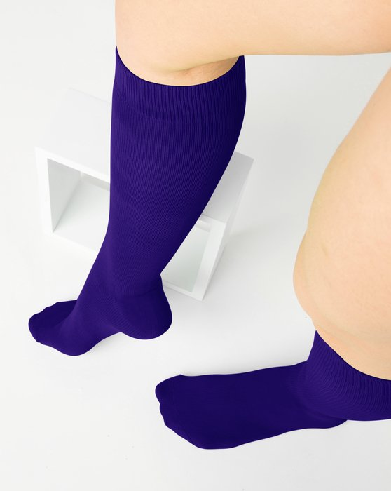 Purple Sports Socks Style# 1559 | We Love Colors