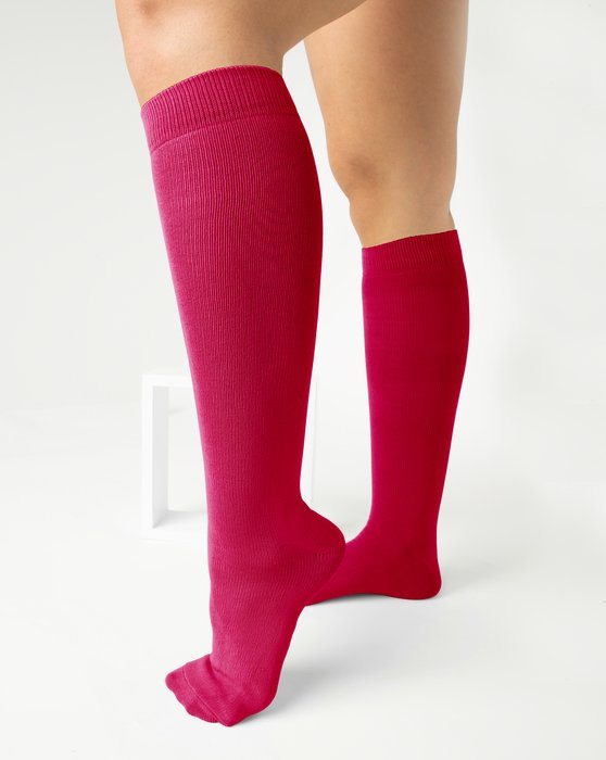 Red Sports Socks Style# 1559 | We Love Colors