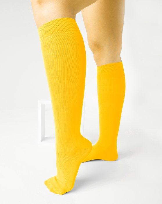 Gold Sports Socks Style# 1559 | We Love Colors