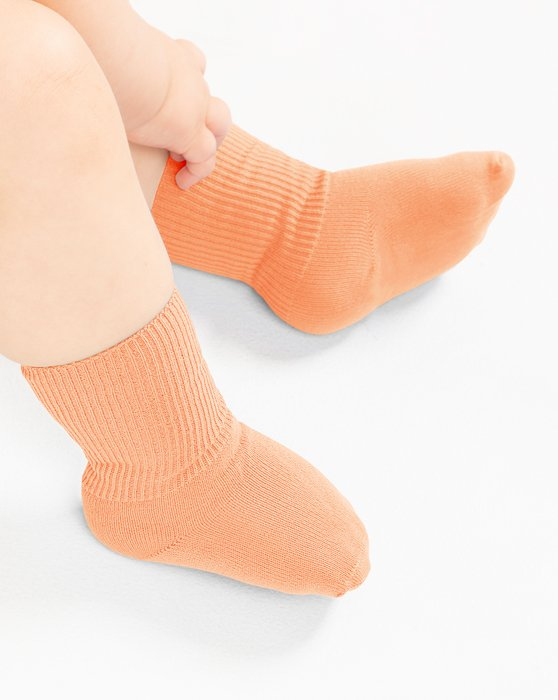 Orange Kids Nylon Socks Style# 1577 | We Love Colors