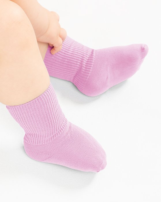 Light-Pink Kids Nylon Socks Style# 1577 | We Love Colors
