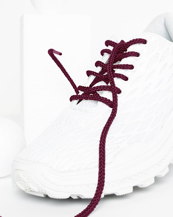 Maroon Round Shoelaces Style# 3001 | We Love Colors
