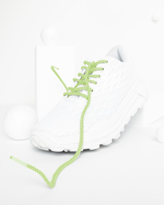Mint Green Round Shoelaces Style# 3001 | We Love Colors