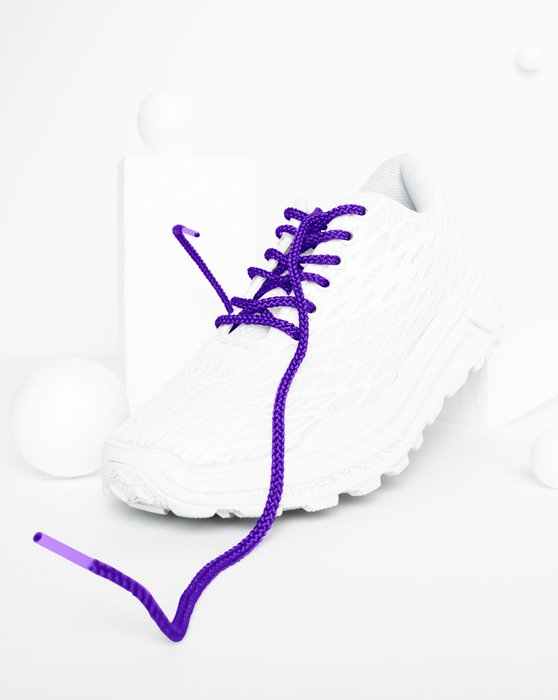 Violet Round Shoelaces Style# 3001 | We Love Colors