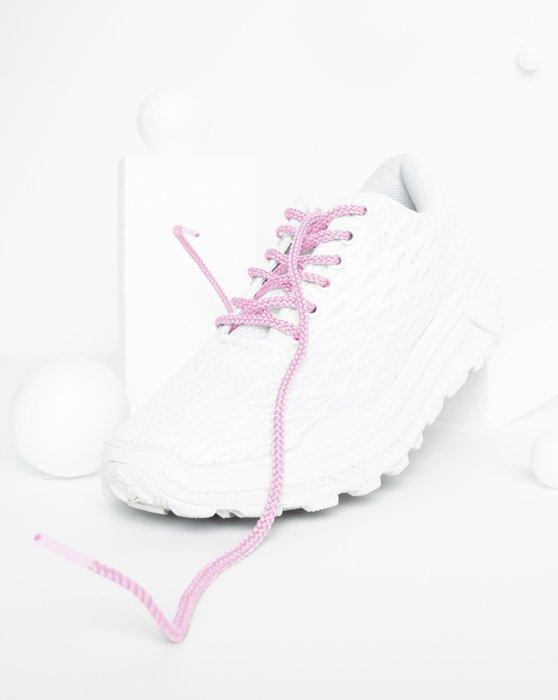 Light-Pink Womens Round Shoelaces Style# 3001 | We Love Colors